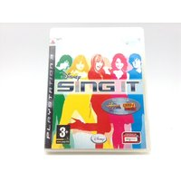 SING IT DISNEY (HANNAH MONTANA CAMP ROCK) PS3