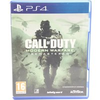 CALL OF DUTY MODERN WARFARE REMASTERED PS4