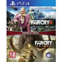 COMPIL FAR CRY 4 + FAR CRY PRIMAL PS4