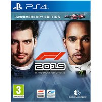 FORMULA 1 2019 ANNIVERSARY EDITION PS4