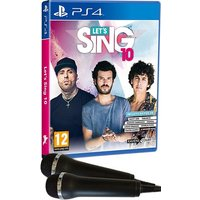 LETS SING 10 PS4