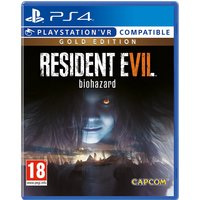 RESIDENT EVIL VII BIOHAZARD. GOLD EDITION PS4