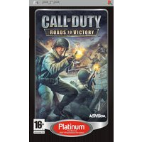CALL OF DUTY ROADS TO VICTORY PLATINUM PSP