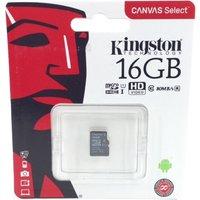 MICRO SD KINGSTON 16 GB CLASE 10 ULTRA 1
