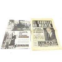 OBJETOS INSOLITOS DIARIO INFORMACION 20 NOVIEMBRE 1975 DIARIO INFORMACION 20 NOVIEMBRE 1975