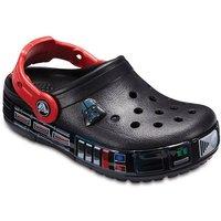 Crocs Crocband™ Fun Lab Darth Vader Lights Clogs Kinder Black 29