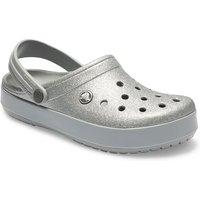 Crocs Crocband™ Glitter Clogs Unisex Silver 39