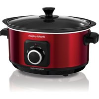 Morphy Richards Sear And Stew Red Slow Cooker 3.5L Red