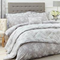 image-Gianna Grey Jacquard Bedspread Grey