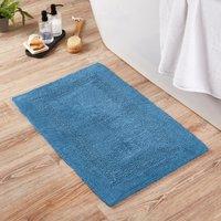 image-Super Soft Reversible Cornflower Bath Mat Cornflower (Blue)