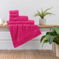 image-Fuchsia Egyptian Cotton Towel Fuchsia (Pink)