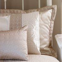 Circles Latte Oxford Pillowcase Medium Brown