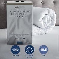 Fogarty Soft Touch 10.5 Tog Duvet White