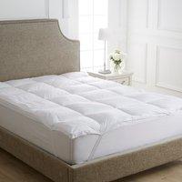 image-Dorma Full Forever Mattress Topper White
