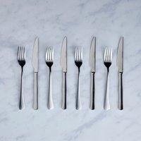 Epsom 8 Piece Steak Knife Set Silver