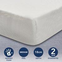 image-Memory Foam Mattress White