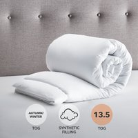 image-Fogarty Anti Allergy 13.5 Tog Duvet White