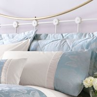 image-Olivia Duck-Egg Housewife Pillowcase Duck Egg Blue