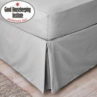 image-Non Iron Plain Dye Slate Grey Divan Trim Slate (Grey)