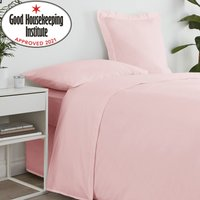image-Non Iron Plain Flat Sheet Dusty Pink