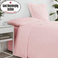 Non Iron Plain Flat Sheet Dusty Pink