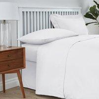 Easycare Cotton 180 Thread Count Flat Sheet White