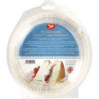 Tala Pack of 50 Cake Tin Liners White