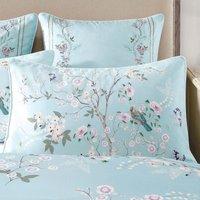 Dorma Maiya Duck Egg Housewife Pillowcase Duck Egg Blue