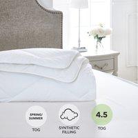 Dorma Full Forever 4.5 Tog Duvet White