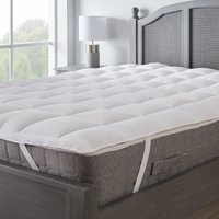 Supersoft heavy fill mattress topper white