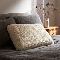 Teddy Bear Memory Foam Pillow Light Brown / Natural