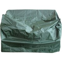 image-Heavy Duty 2 Seater Green Bench Cover Green