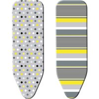 Minky Smart Fit Reversible Ironing Board Cover Green / White