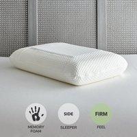 Gel Fusion Memory Foam Pillow White