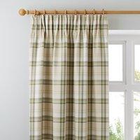 Balmoral Green Pencil Pleat Curtains Green