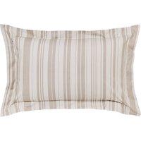 image-Laura Natural Jacquard Oxford Pillowcase Cream