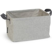 image-Brabantia Grey Foldable Laundry Basket Grey