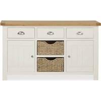 image-Wilby Cream Large Sideboard White