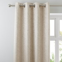 Richmond Champagne Eyelet Curtains Champagne Brown
