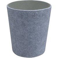 Grey Two Tone Waste Bin Grey