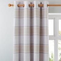 Dorma Sherbourne Natural Eyelet Curtains Natural