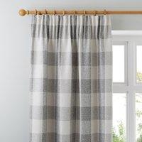 Skye Natural Pencil Pleat Curtains Natural