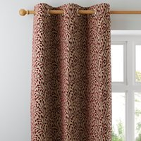 Willow Red Eyelet Curtains Red