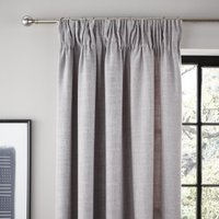 Vermont Dove Grey Pencil Pleat Curtains Grey