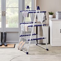 3-Tier Heated Airer Grey