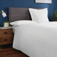 Fogarty Soft Touch Flat Sheet White