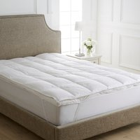 Dorma Hungarian Goose Down Dual Layer Mattress Topper White