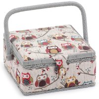 image-Hoot Sewing Box White