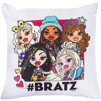 Bratz Square Cushion White