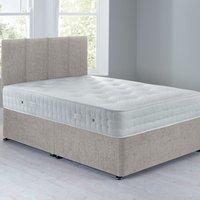 image-Sarasota Platform Top Divan Set - 0 Drawer Grace Linen Natural